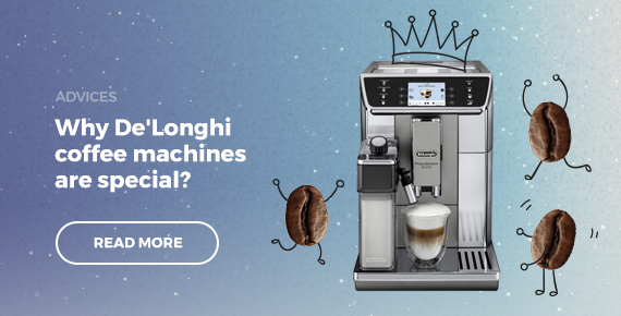 Why De'Longhi coffee machines are special?
