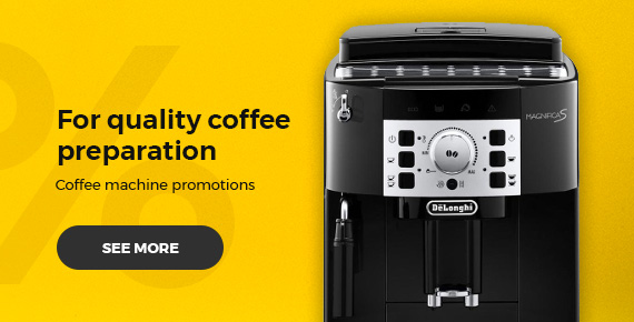 Coffee machine promotions