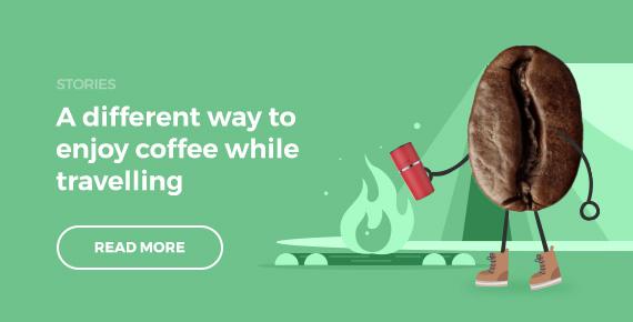 Summer camping companion – freshly brewed coffee