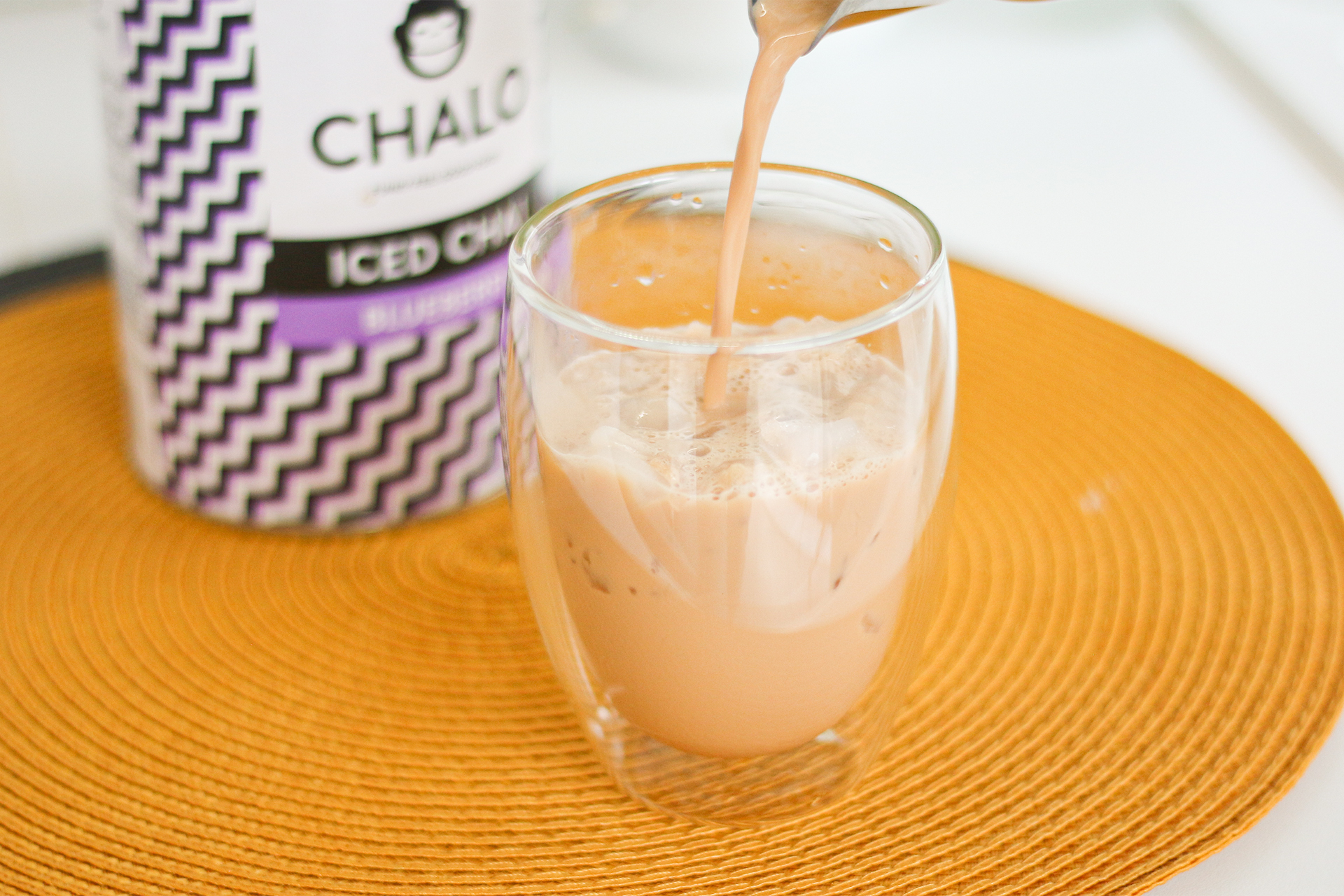 Chalo iced chai latte