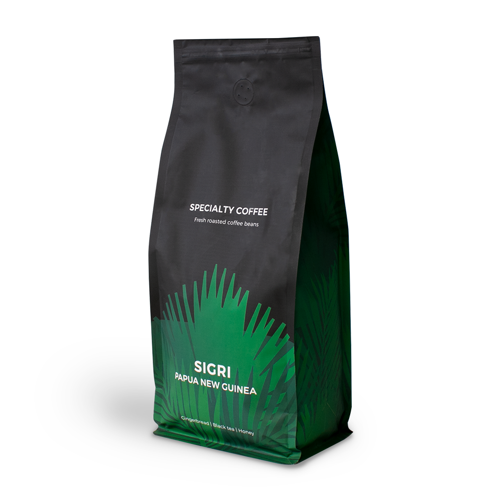 "Specialty coffee beans ""Papua New Guinea Sigri"", 1 kg"