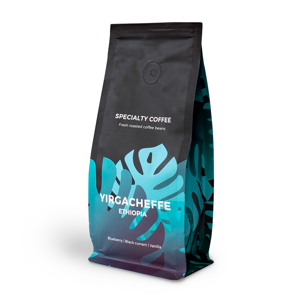 "Specialty coffee beans ""Ethiopia Yirgacheffee"", 250 g"