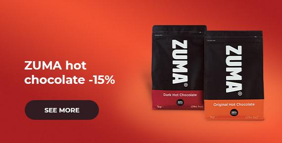 ZUMA hot chocolate -15%