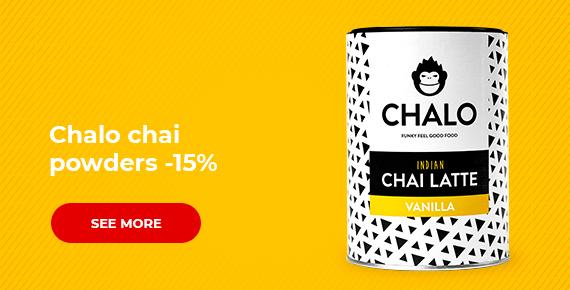 Chalo chai powders -15%