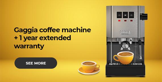 Gaggia coffee machine + gift