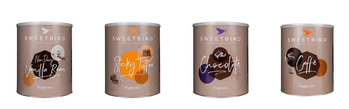 Sweetbird frappe mixes -25%
