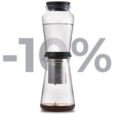 """Slow Drip Brewer Hario """"Shizuku"""" -10%"""