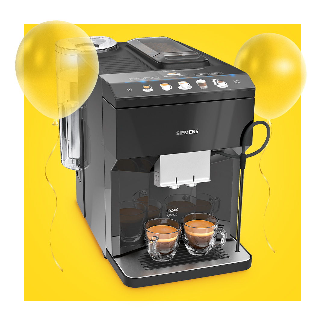Coffee machines up to -30%