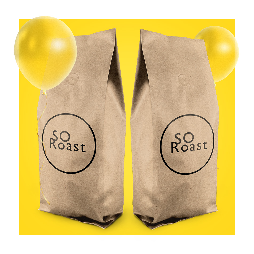 SORoast 1 kg coffee beans -15%