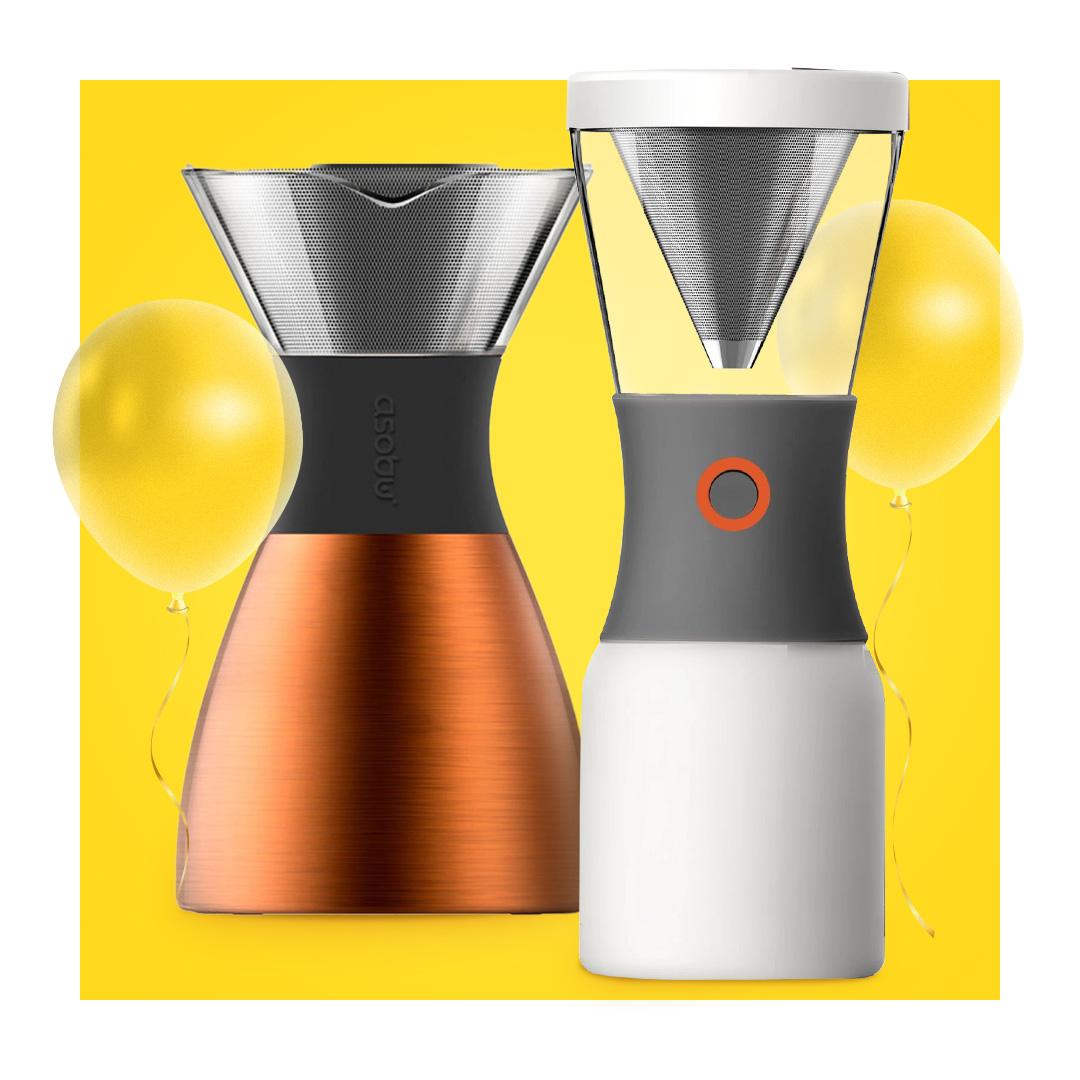 ASOBU coffee makers -20%