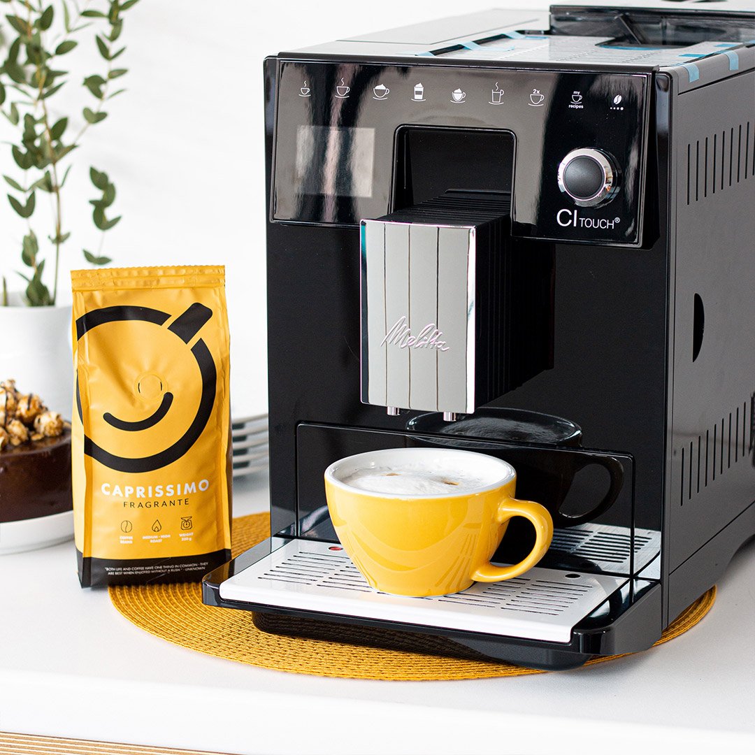 Automatic coffee machine + 250 g of coffee as a gift