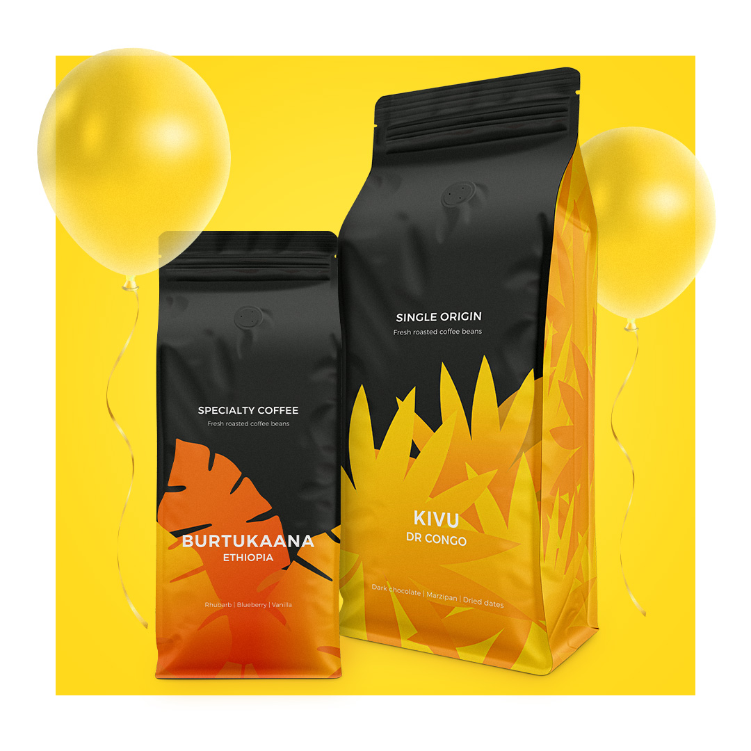 Specialty coffee -20%