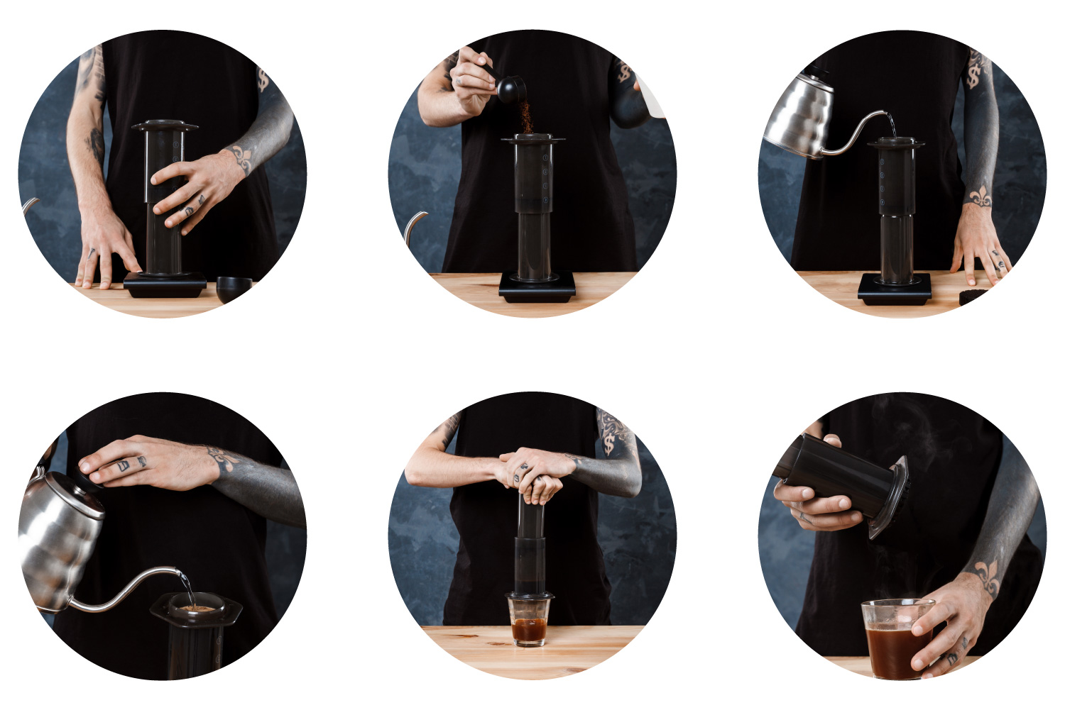 Aeropress - step by step guide