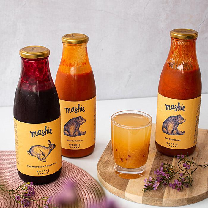 Mashie 750 ml purees -20%