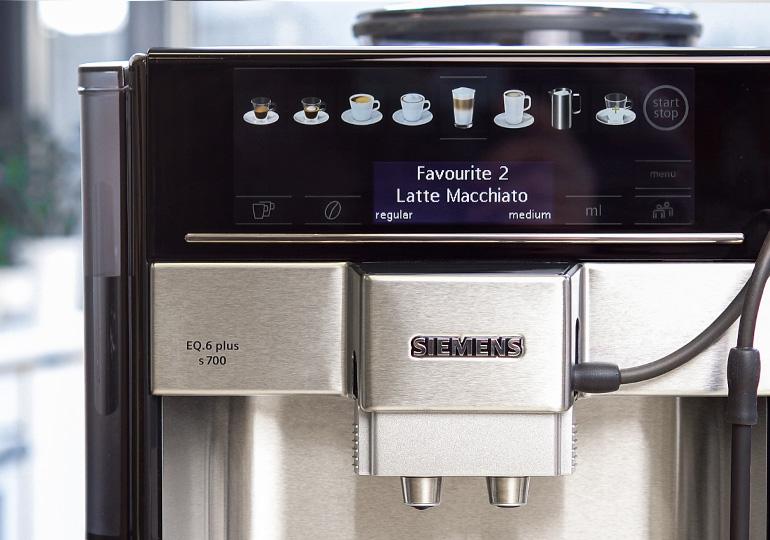 Auswahl der Kaffeerezepte