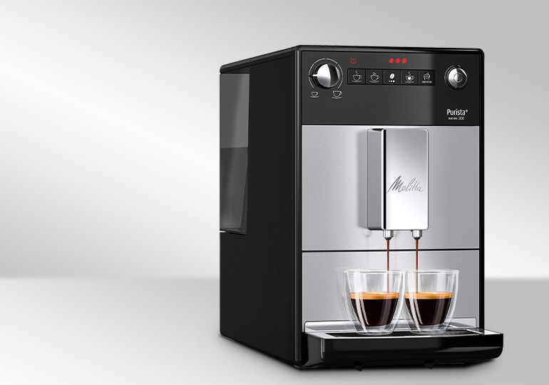 "Coffee machine ""Melitta Purista Series 300 Silver"""