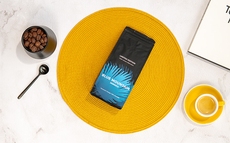 """Specialty coffee beans """"Jamaica Blue Mountain"""""""