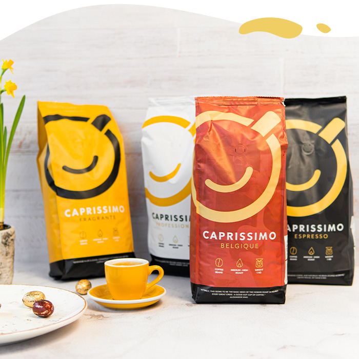 Caprissimo 1 kg coffee beans only £9.99