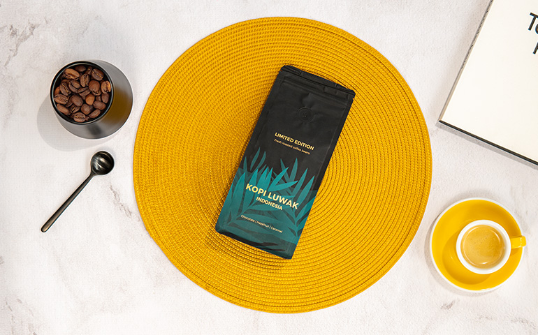 "Coffee beans ""Indonesia Kopi Luwak"""