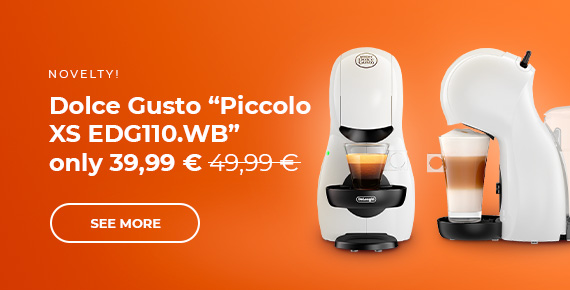 """Dolce Gusto """"Piccolo XS EDG110.WB"""" coffee machine only £39.99"""