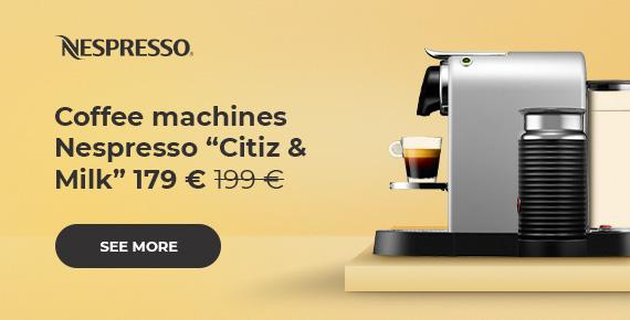 "Nespresso ""Citiz & Milk"" coffee machines £179"