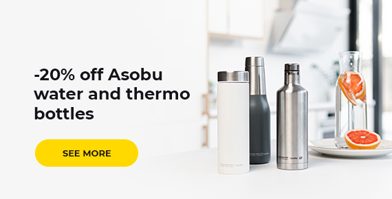 Asobu water and thermo bottles -20%