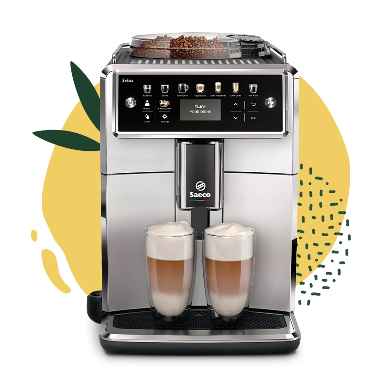 "Saeco ""Xelsis SM7581/00"" coffee machine only £989"