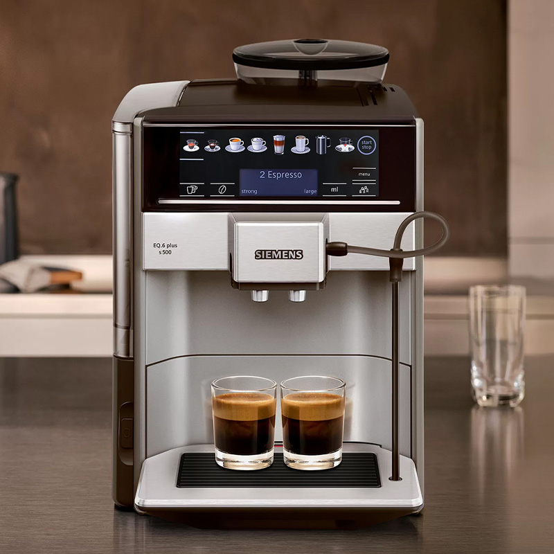 """""""AromaDouble Shot"""" function for strong coffee without any bitterness"""