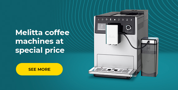 Melitta coffee machines at special price