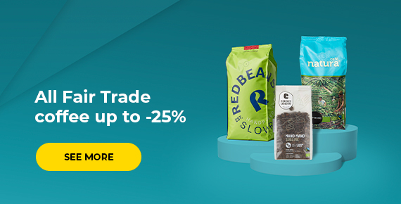 All Fair Trade coffee up to -25%