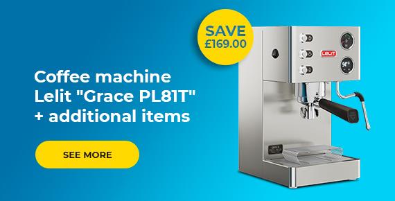 "Coffee machine Lelit ""Grace PL81T"" + additional items"